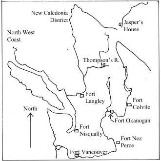 Fort Okanogan to Fort Nez Perces