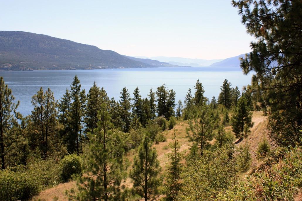 Okanagan Lake, British Columbia