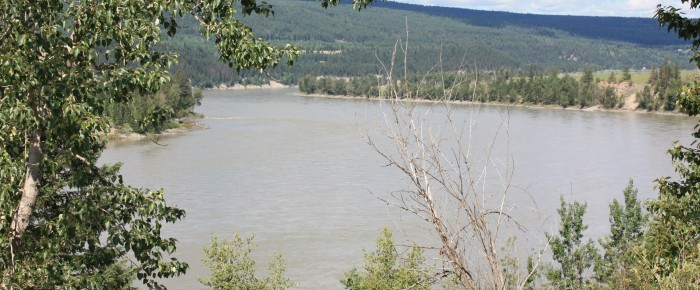 Landslides on the Fraser River