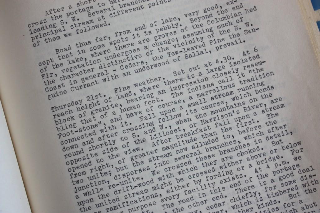 James Robert Anderson's memoirs