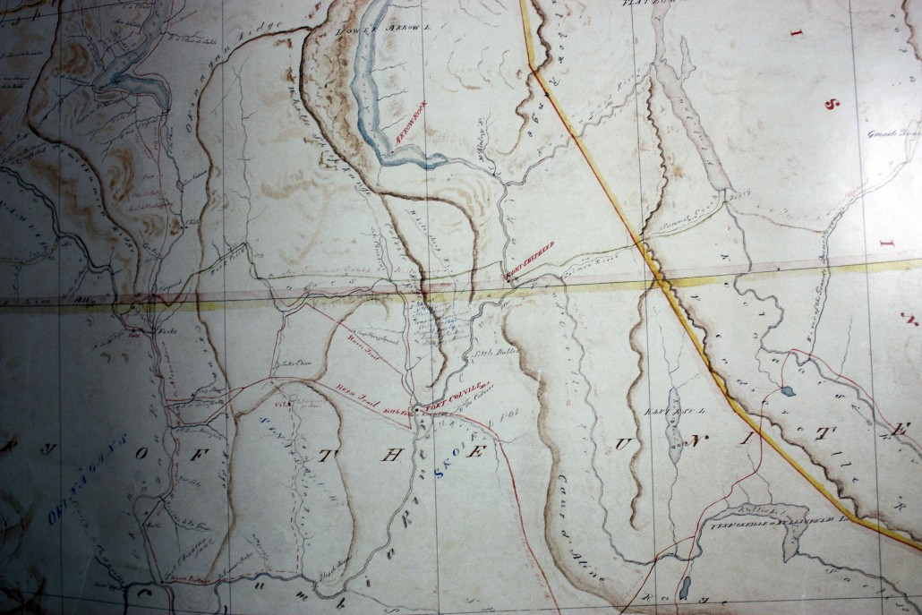 Fort Colvile and Fort Shepherd