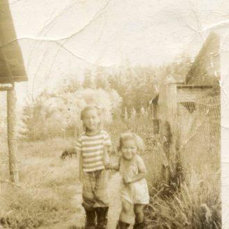 A Childhood at Fort Alexandria, Fraser River