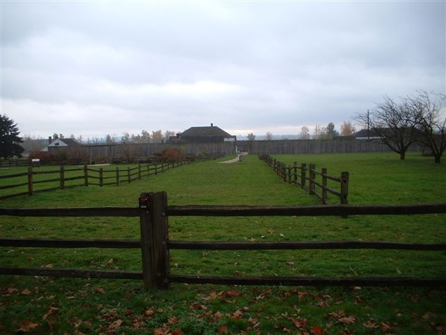 Fort Vancouver on the Columbia River