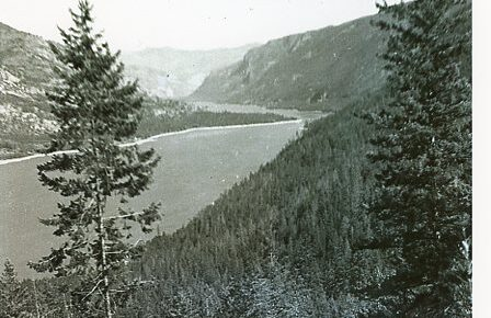 Paul Kane on the Columbia River